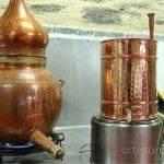 alambique para la elaboración de destilados