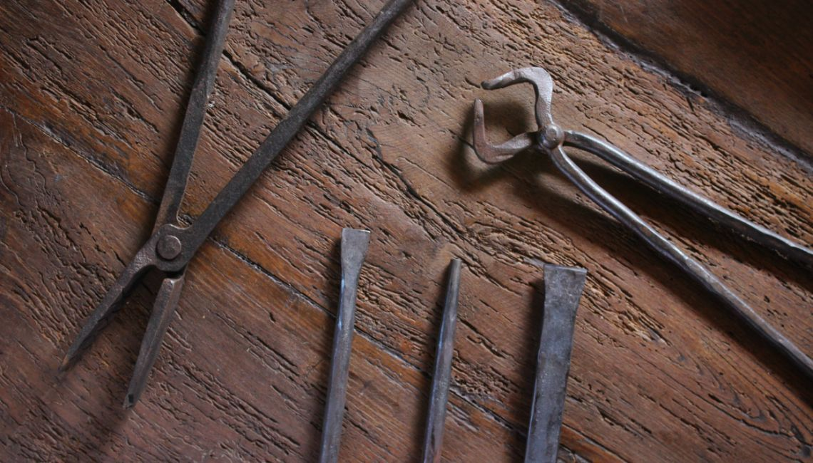 Forja tus propias herramientas - Adornos de pared de forja ...