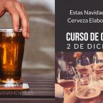 cartel para curso de cerveza artesana