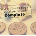 Curso de cosmética natural en Oviedo (completo)