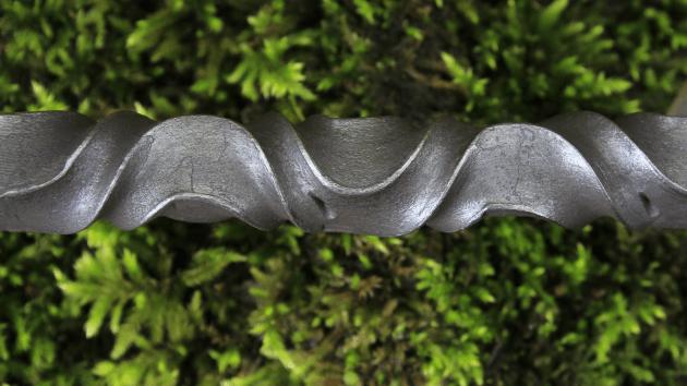 detalle de torcidos forjados a mano