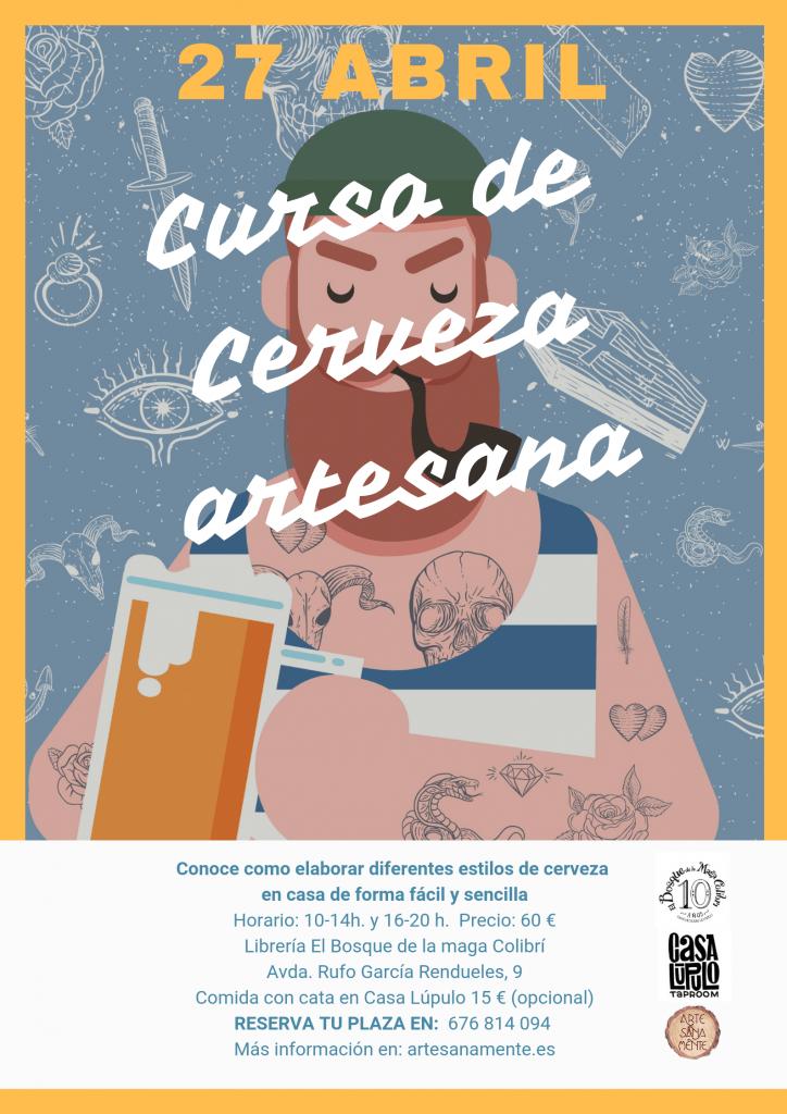 poster Curso de Cerveza Artesana