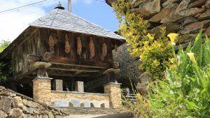 casa natal marques de sargadelos horreo en la entrada