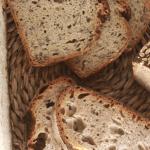 dieferentes tipos de pan: de centeno, avena, semillas, integrales