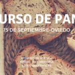 cartel para anunciar curso de pan con diferentes tipos de panes